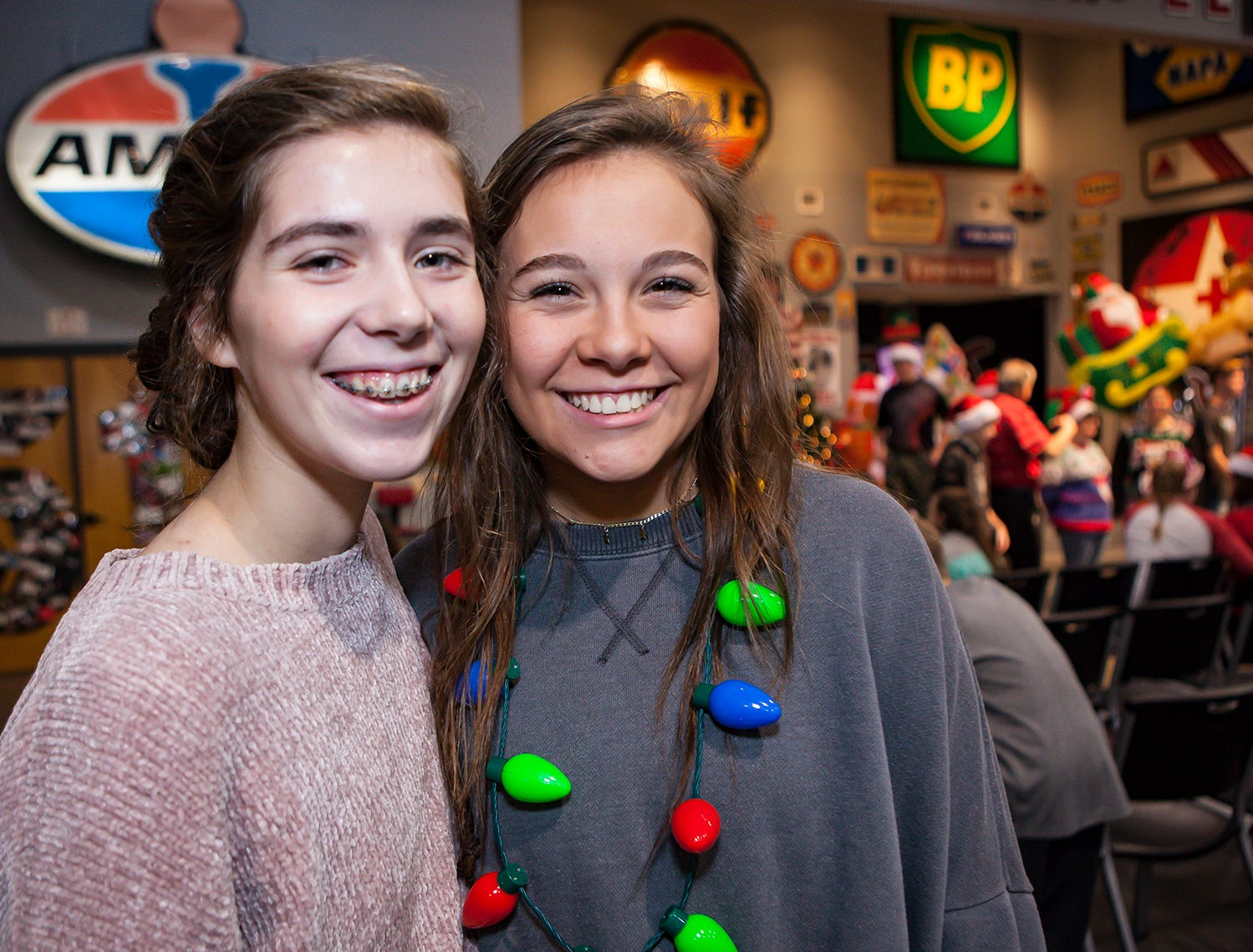 North Boulevard Church of Christ's youth ministry hosted a Christmas party for Inner City Ministries on Thursday, Nov. 29, 2018.