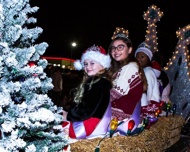 La Vergne's 2018 Christmas Parade of Lights was held Saturday, Dec. 1, 2018.