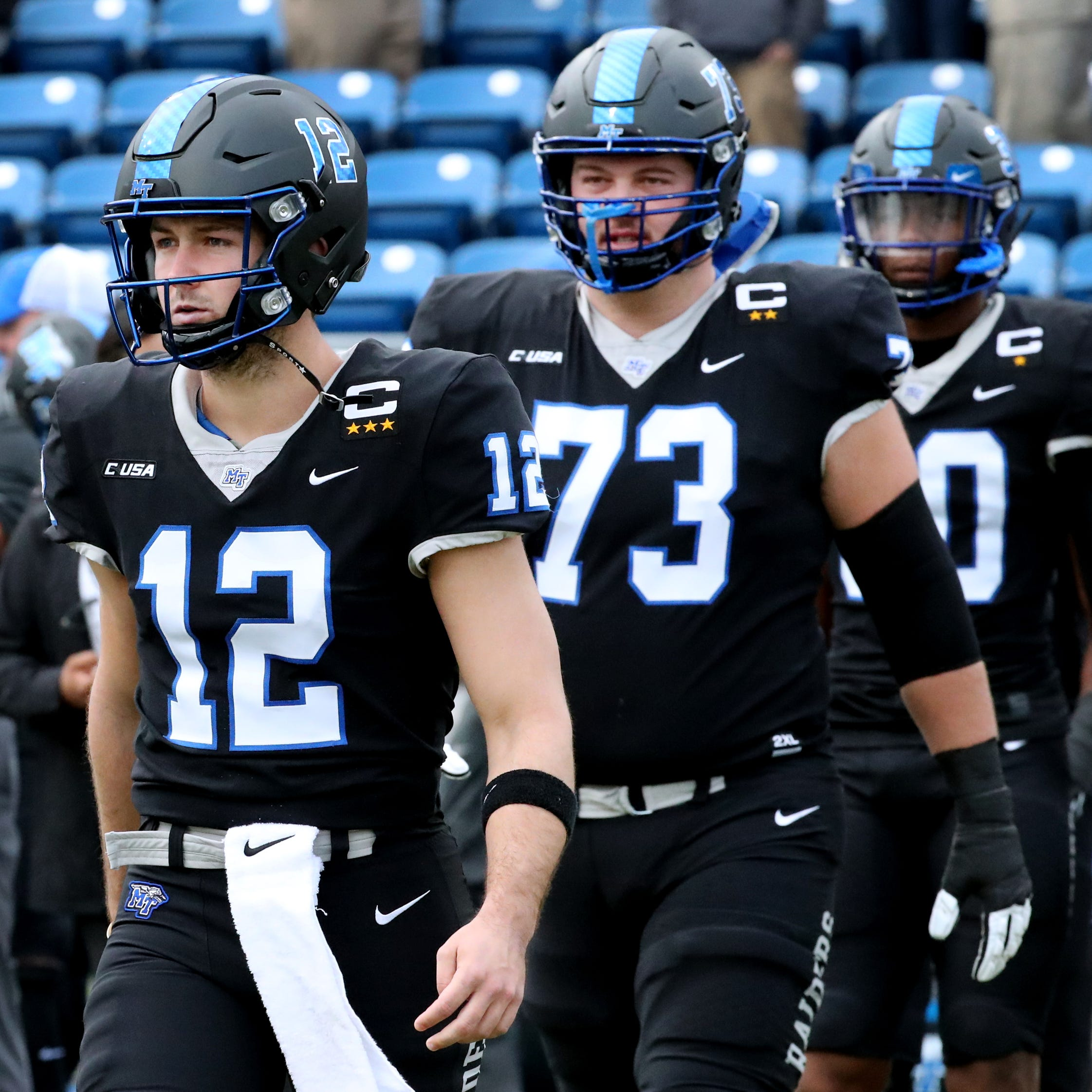 What MTSU's Brent Stockstill, Chandler Brewer and Darius Harris will be doing during the NFL Draft