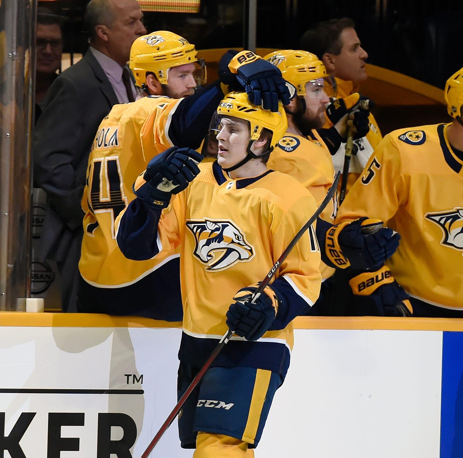 Predators reassign Eeli Tolvanen to Milwaukee