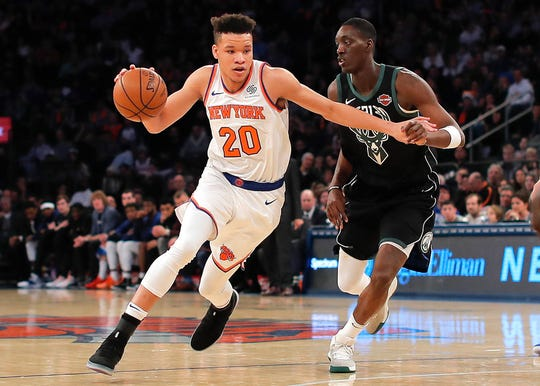 New York Knicks forward Kevin Knox.