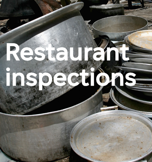 Restaurant Inspections vertical placeholder