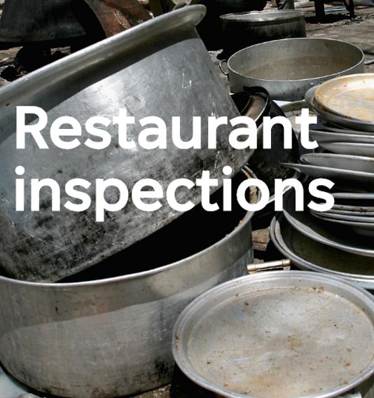 Restaurant Inspections vertical placeholder