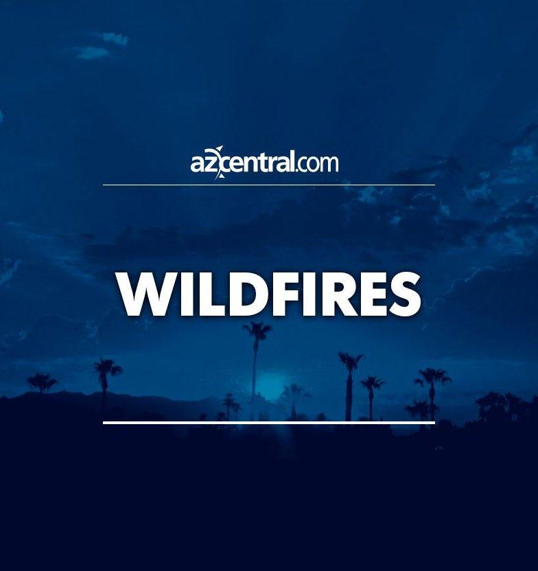 Lightning starts wildfire west of Tucson, burns 1,100...
