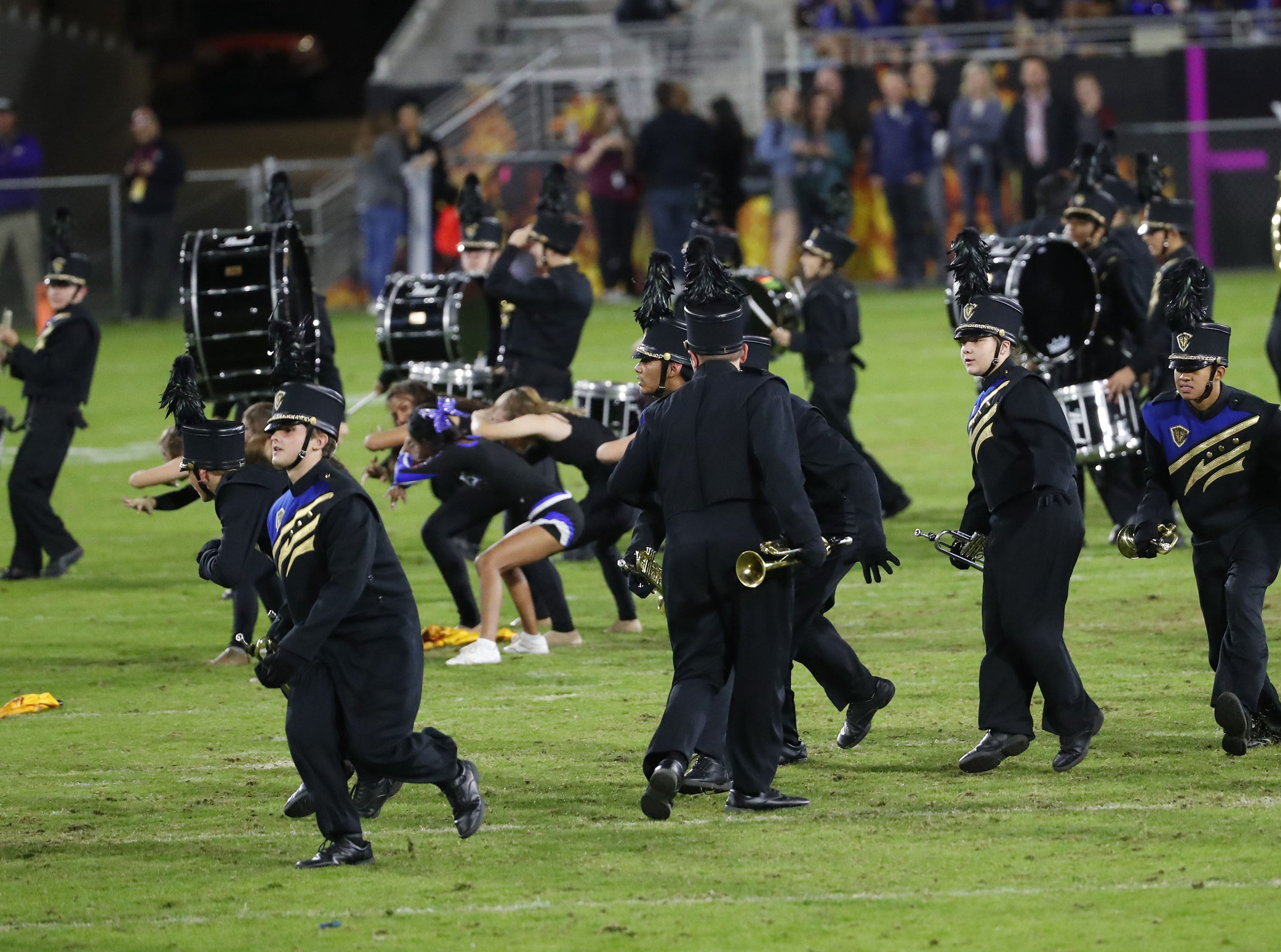 Chandler band performs during the 6A state football championship against Perry at Sun Devil Stadium December 1, 2018. #azhsfb