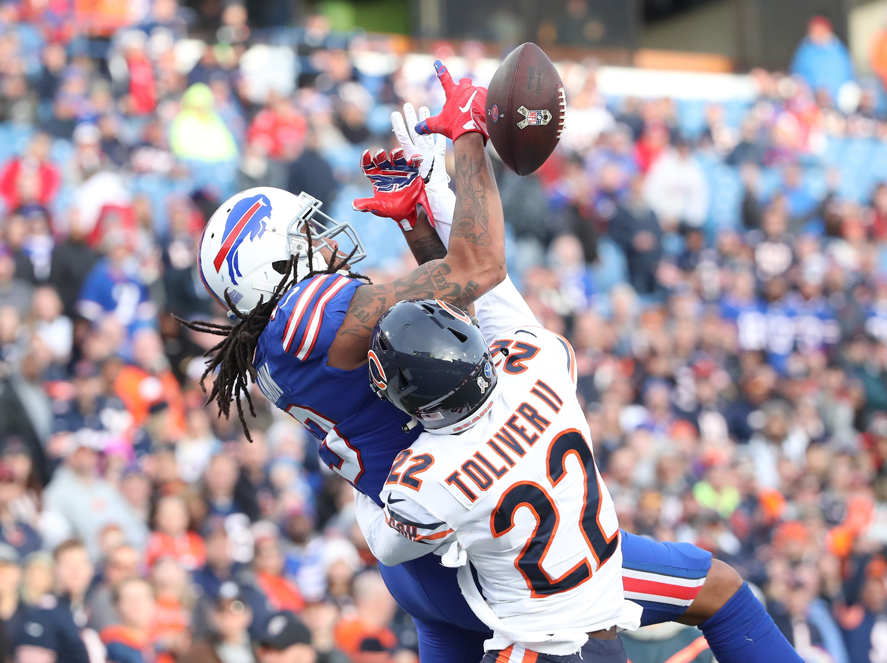 Is Kelvin Benjamin the worst receiver in the NFL? This stat says yes.