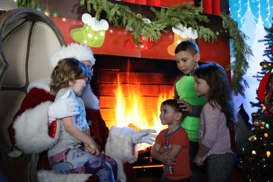 Sunday morning at Roc Holiday Village in Rochester, the festivities on take place on weekends from December 1 to 23.