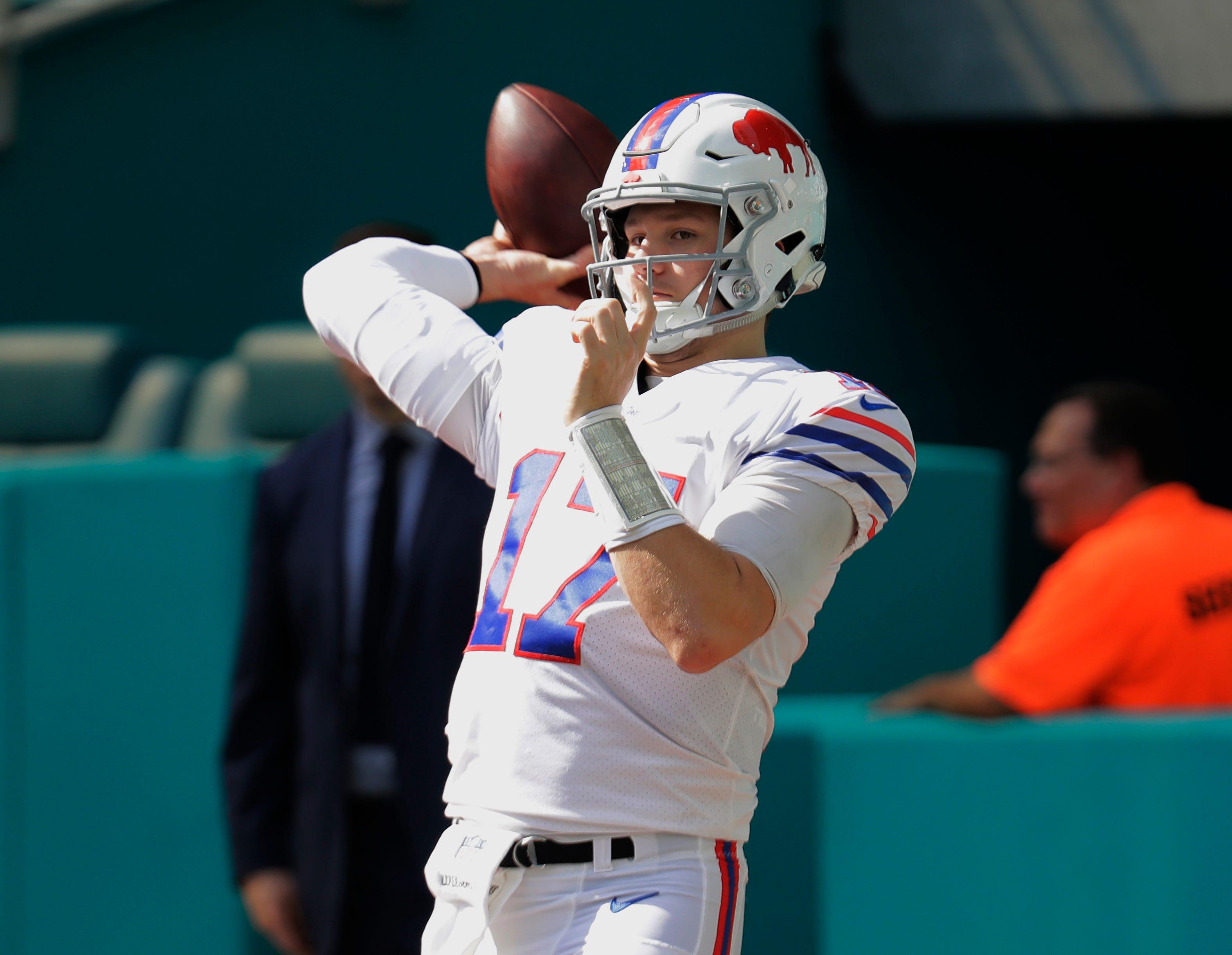 Bills Vs Jets First Clash Of The Class Of 2018 Quarterbacks