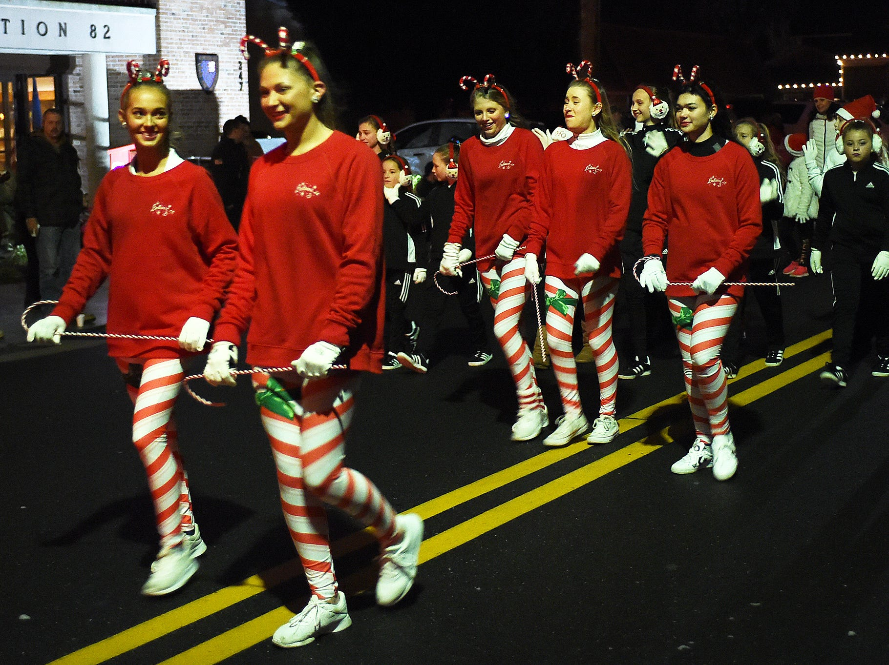 The Annual Lewes Christmas Parade was held on Saturday December 1 in downtown Lewes with hundreds on hand to view the start of the Holiday Season in Lewes, Delaware. Special to the Daily Times / Chuck Snyder