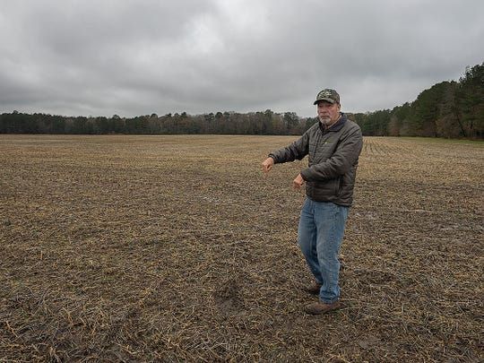 "Virgil Shockley, who raises chickens and grain near Snow Hill, called the phosphorus regulation ""a potential disaster in the making"" for farmers."