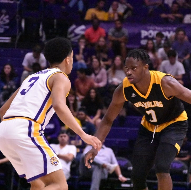 Darius Days leads LSU past Grambling State