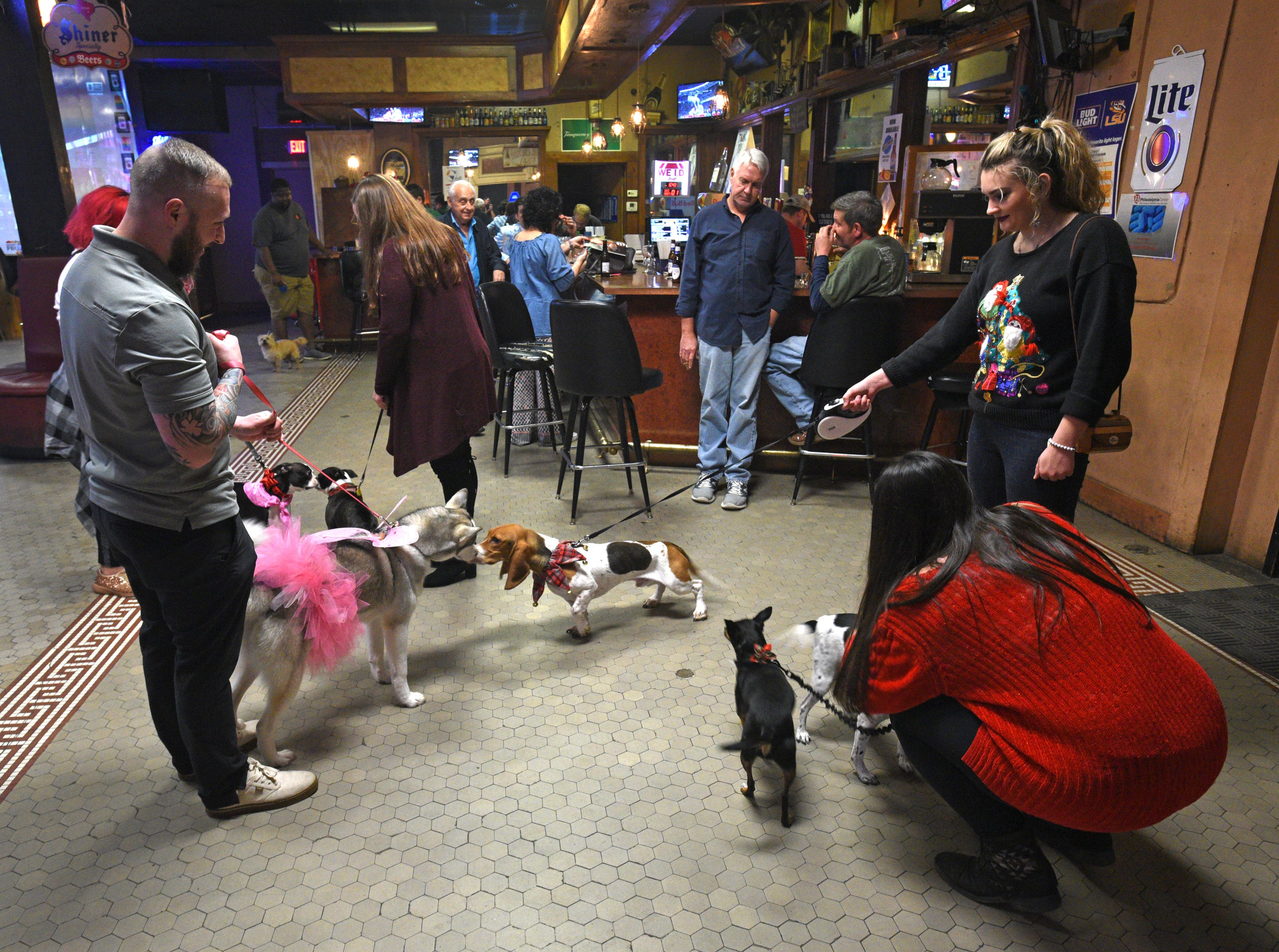 The 3rd Annual Mutts & Struts benefitting LA Baby Mommas and Rhino and Deuce rescue was held at Shreveport's Central Station.