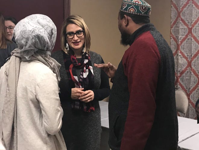 Lt. Governor-elect Peggy Flanagan stops in St. Cloud for a listening session Sunday, Dec. 2.