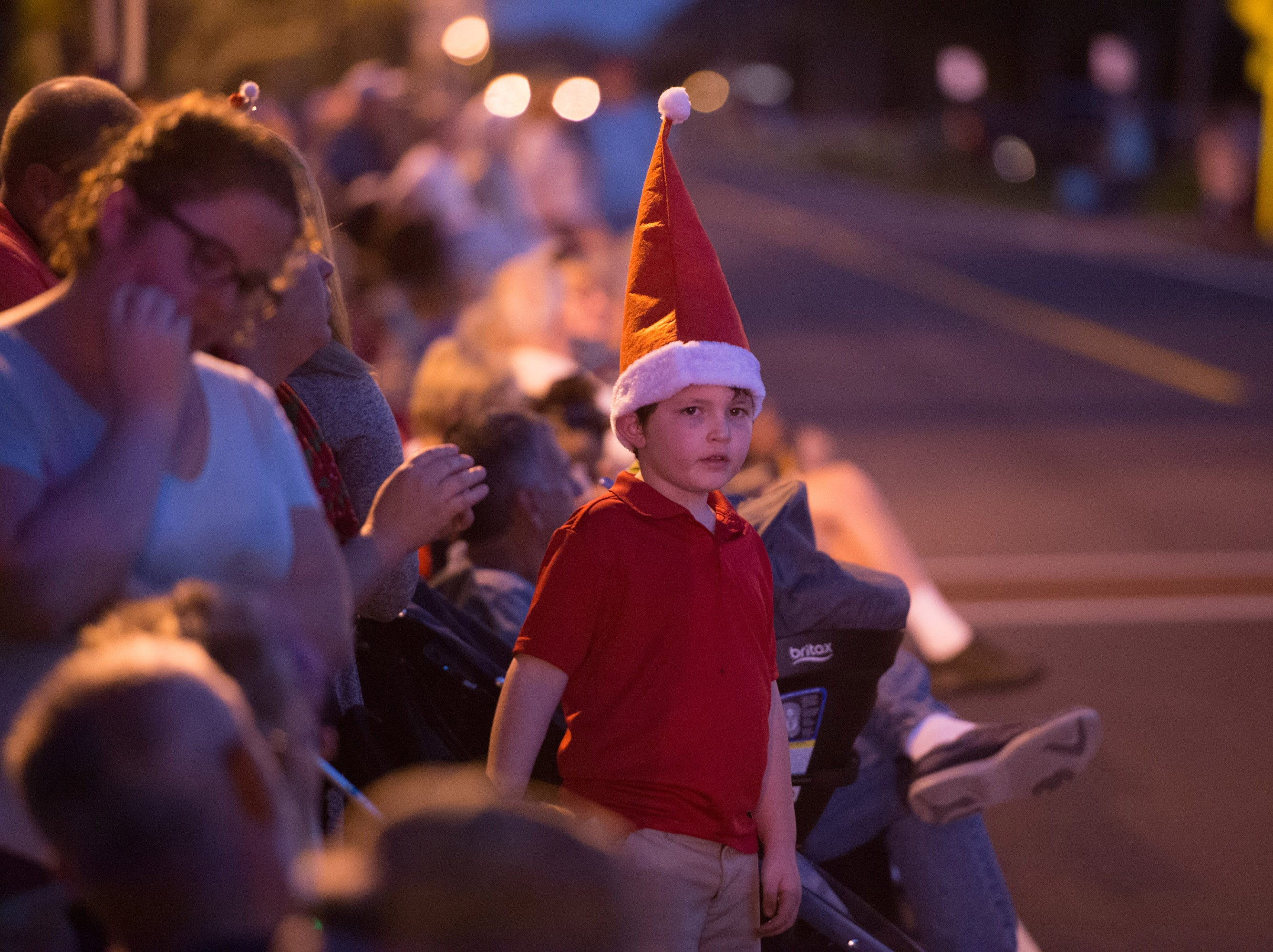 Participants and spectators celebrate the season at the Sebastian Christmas Parade on Saturday, Dec. 1, 2018, in Sebastian.