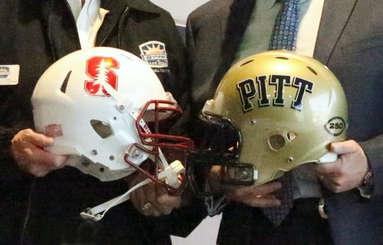 Stanford will meet Pitt in the 85th Hyundai Sun Bowl game Dec. 31.
