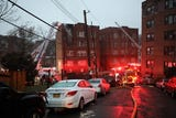 Yonkers fire assistant chief Thomas Fitzpatrick talks about the 3-alarm fire on 637 Van Cortlandt Park Avenue in Yonkers, Dec. 2, 2018.
