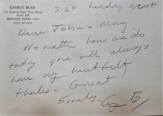 Bush 41 Letter