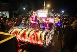 The annual Holiday on the Lake Parade along Route 52 in Carmel Dec. 1, 2018.
