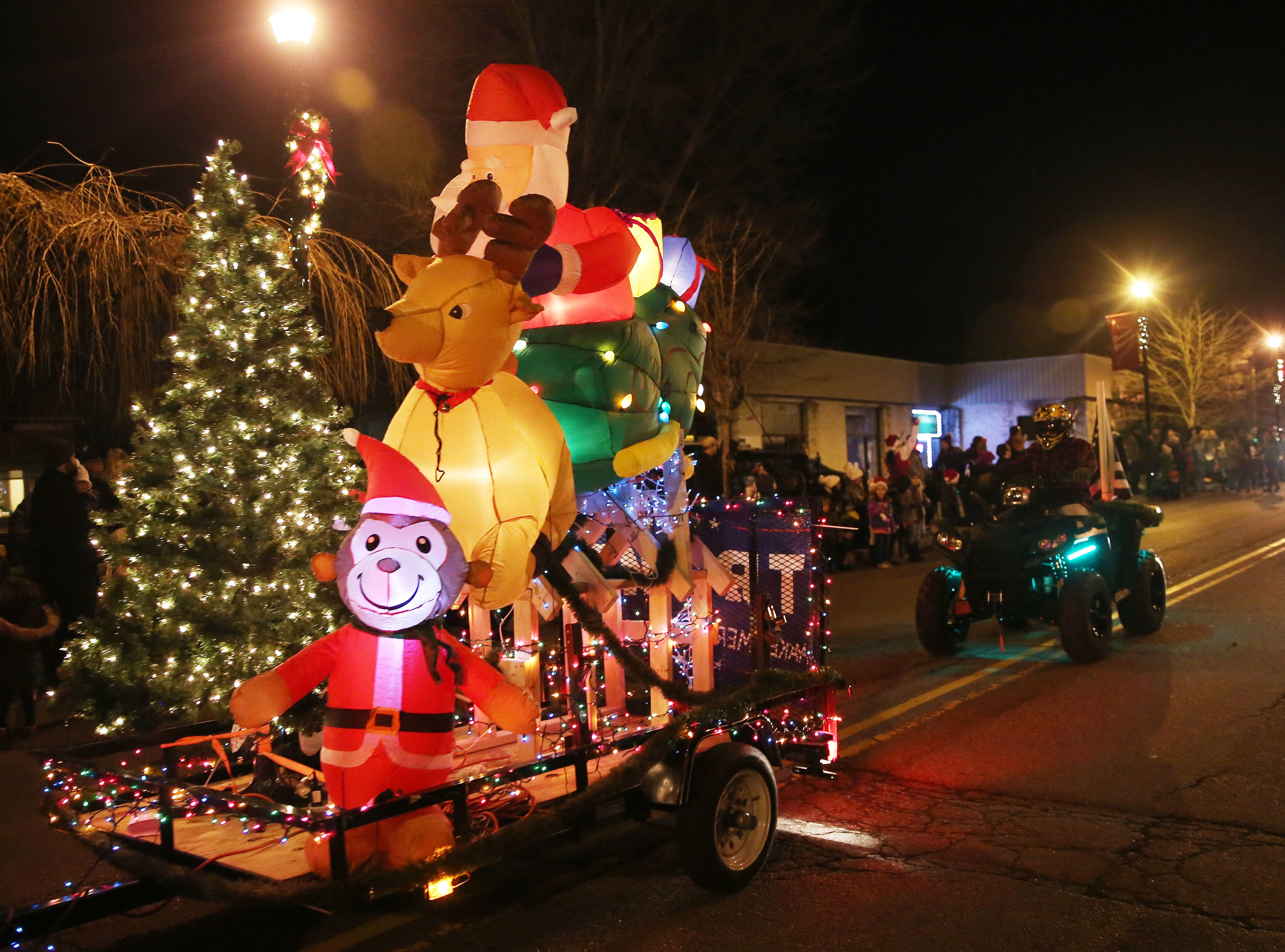 The annual Yorktown Holiday Electric Lights Parade along Commerce Street in Yorktown Dec. 1, 2018.