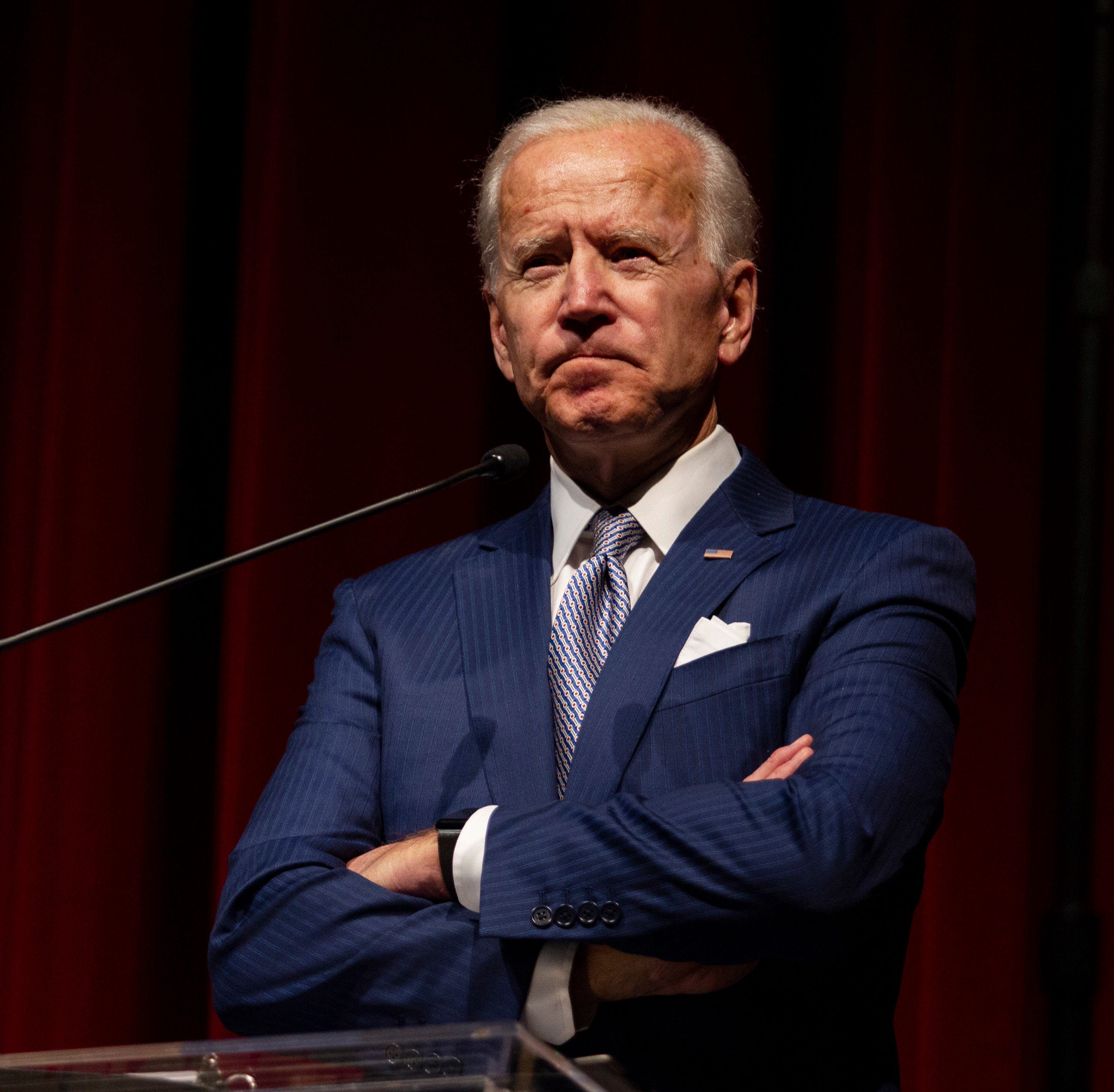 Joe Biden: 'I think I'm the most qualified person in the country to be president'