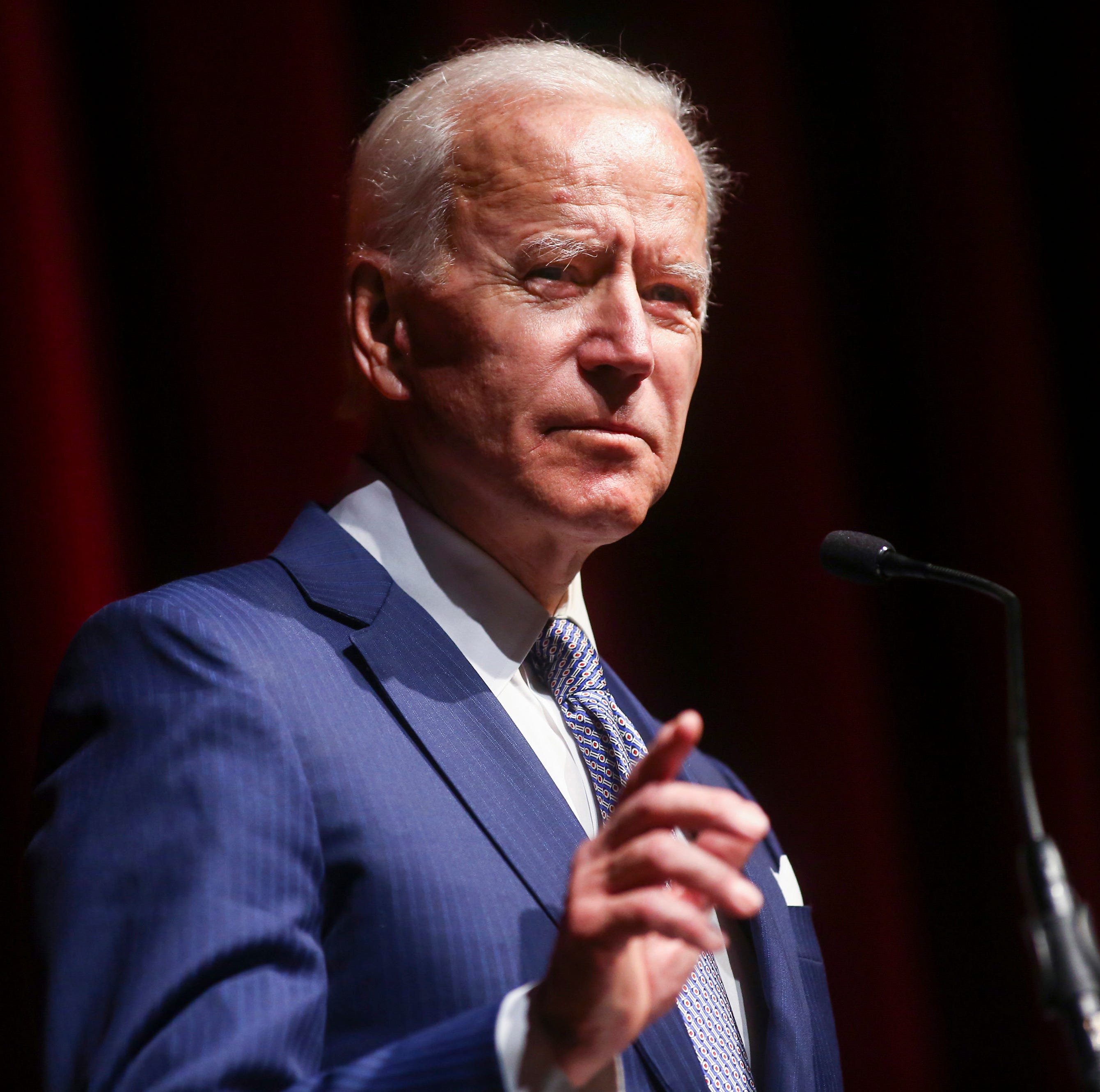 Biden urges political engagement in Brown University speech