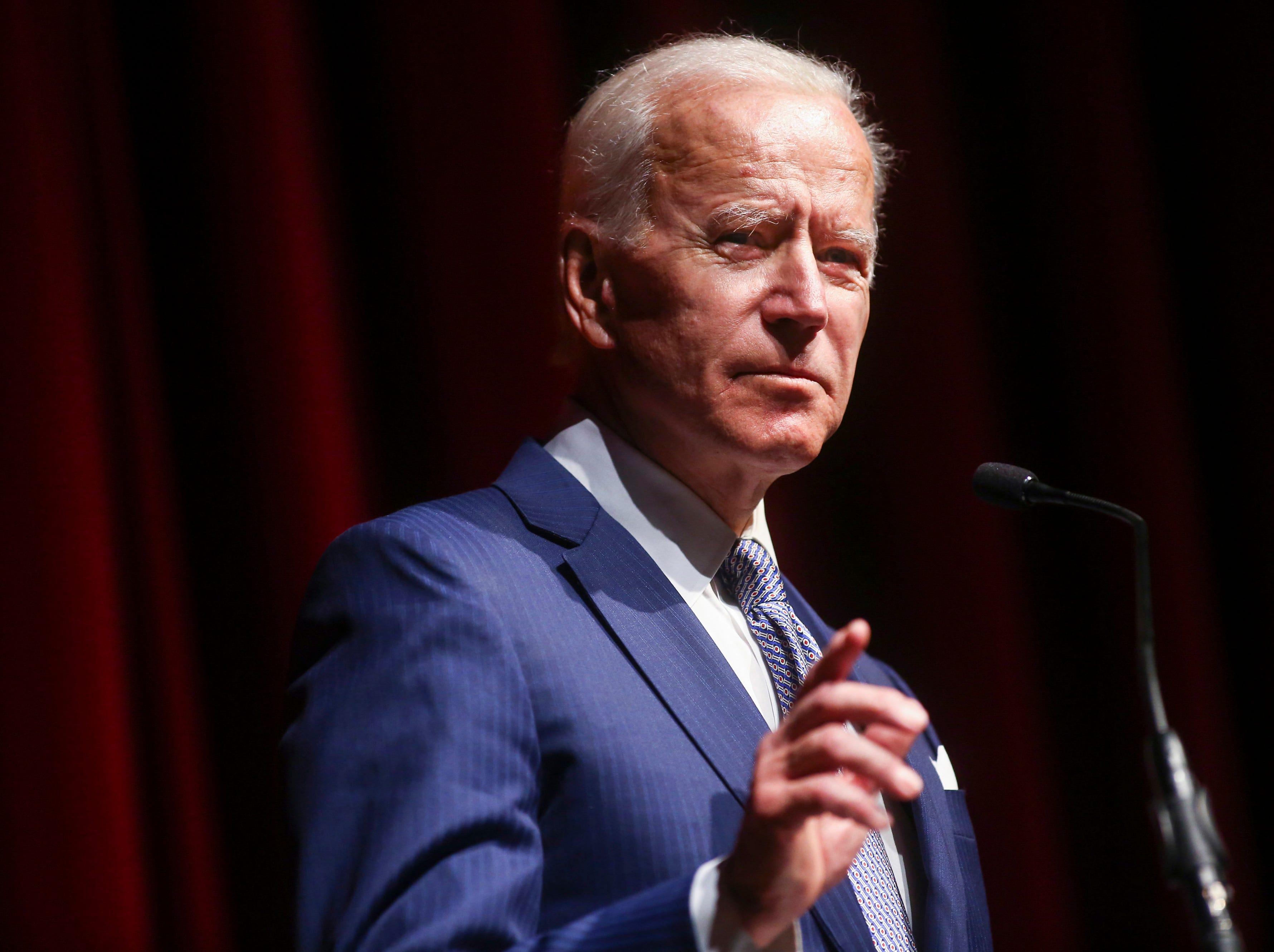 Biden urges political engagement in Brown University speech