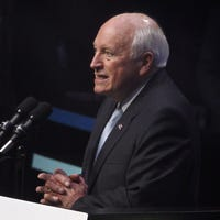 George H.W. Bush death: Dick Cheney responds to 'iron ass' label