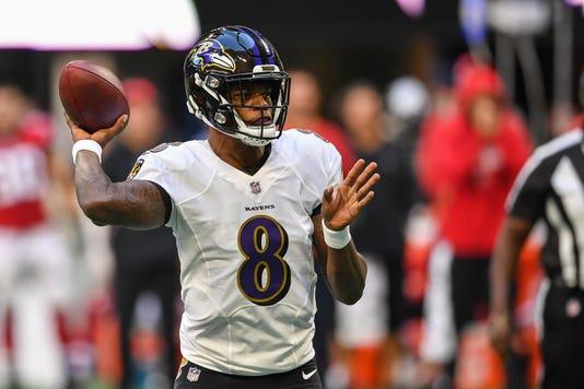 Nfl Baltimore Ravens At Atlanta Falcons