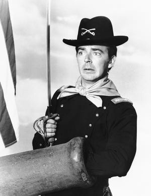 """The death of Ken Berry, who played Captain Wilton Parmenter in the TV series """"F Troop,"""" brought to mind the forgettable sitcom's unforgettable theme song, which explain Captain Parmenter's heroism and predicament and pretty much the entire show."""