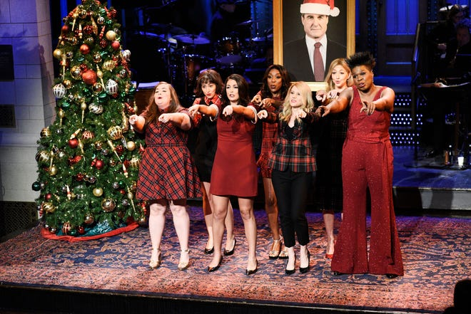 """In the first of three December shows, the ladies of """"Saturday Night Live"""" performed a special (counsel) update to the Mariah Carey holiday classic, titled """"All I Want for Christmas Is the Mueller Report.""""  It featured lyrics like """"I just want to sleep at night. Please make sure your case is tight."""""""