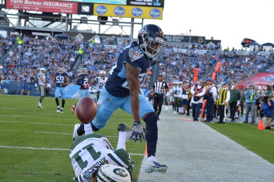 Nfl New York Jets At Tennessee Titans