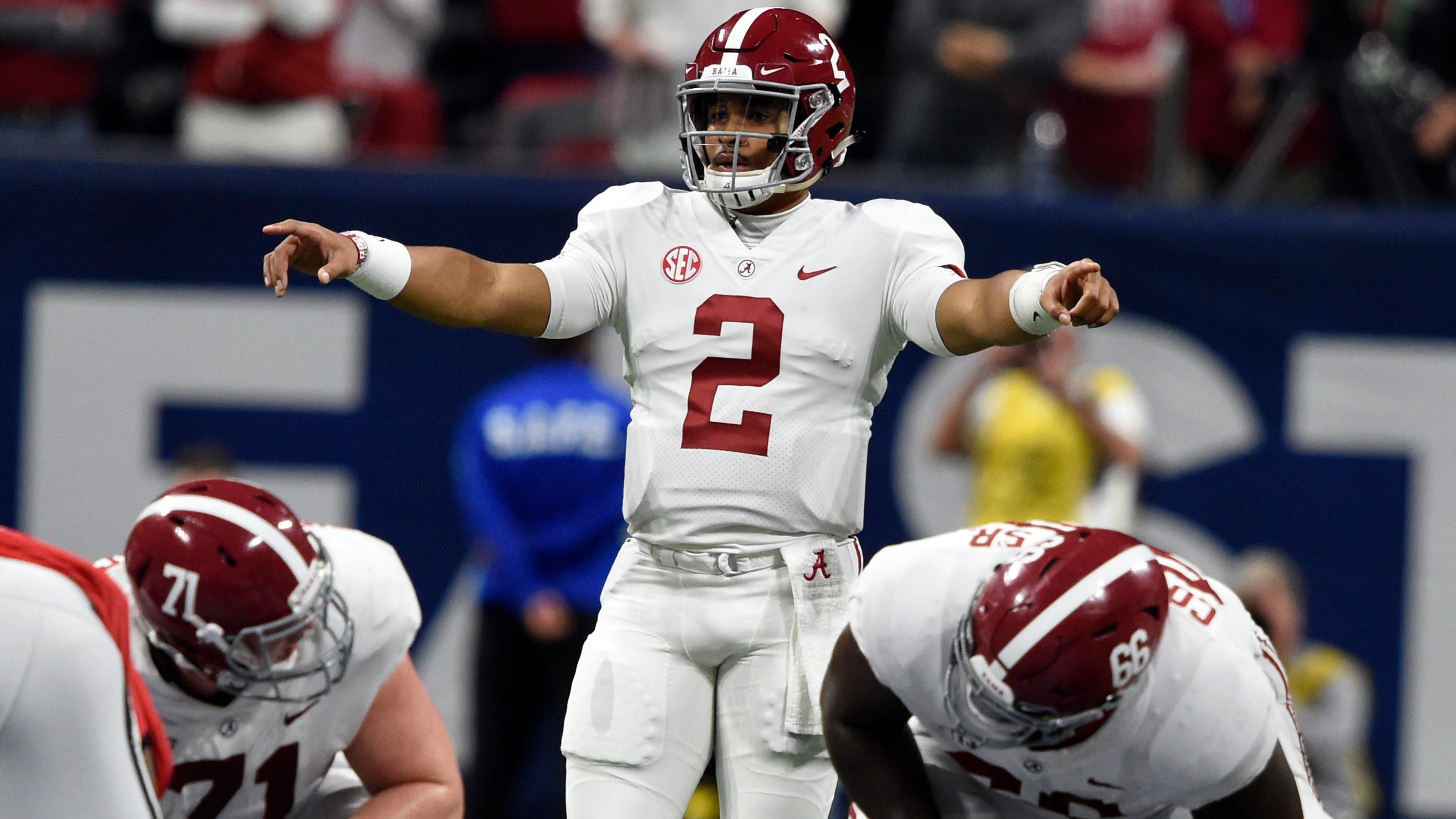 huge discount e713b e1f57 Jalen Hurts transfer to Oklahoma confirmed by Alabama ...