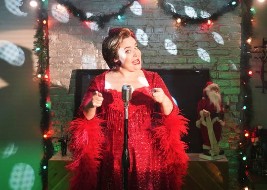 "Aidy Bryant reworks Wham!'s ""Last Christmas"" into ""Dad Christmas"" on ""Saturday Night Live."""