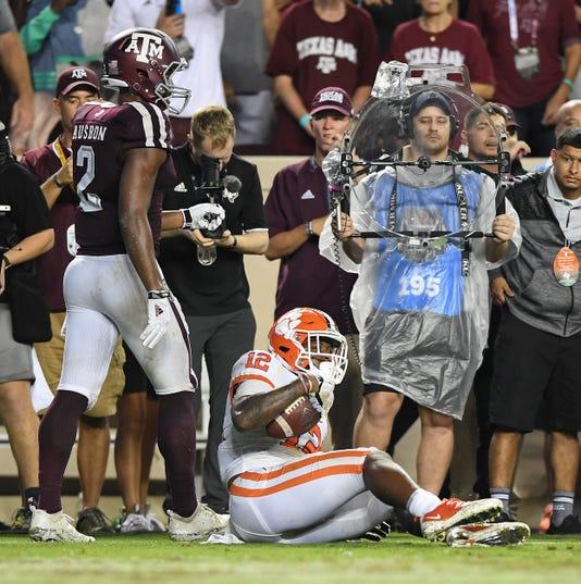 Clemson Texas A M Football