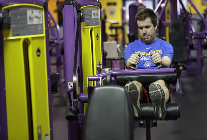 Planet Fitness will move a half mile down College Avenue in early 2019. shown here, Paul Willems of Appleton works out at the existing Planet Fitness at 3375 W. College Ave. in Grand Chute.