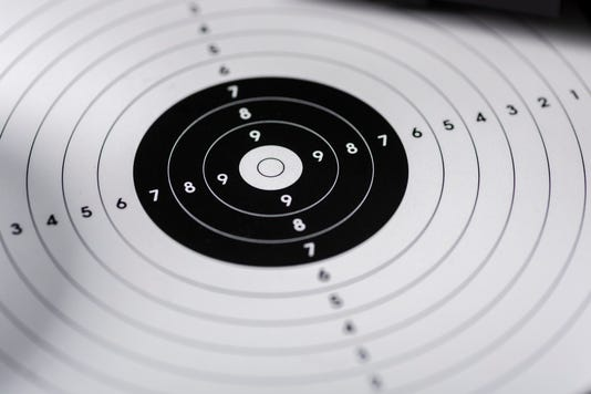 Shots Shields And Cartridges Shooting Position On The Sport Shooting Range