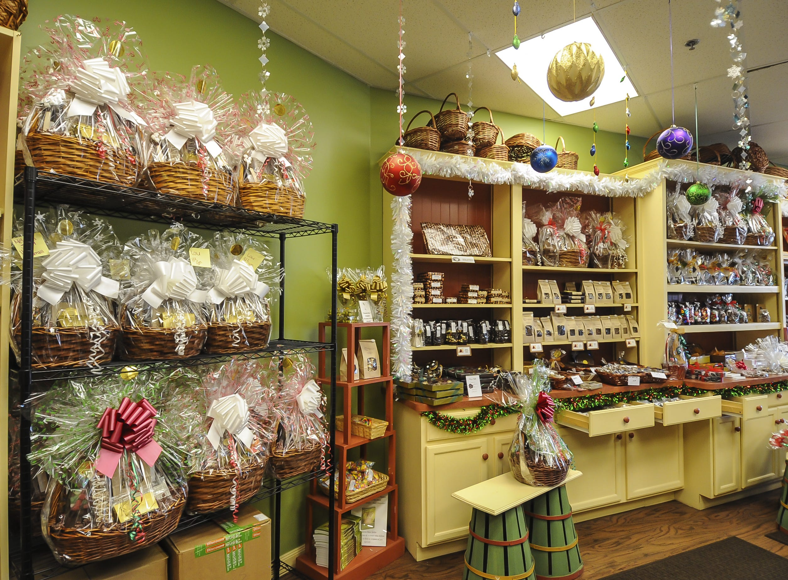 Suzi's Sweet Shoppe, a Middletown family-owned business. The family-owned business offers hand-dipped chocolates, gift baskets, party favors, and homemade fudge.