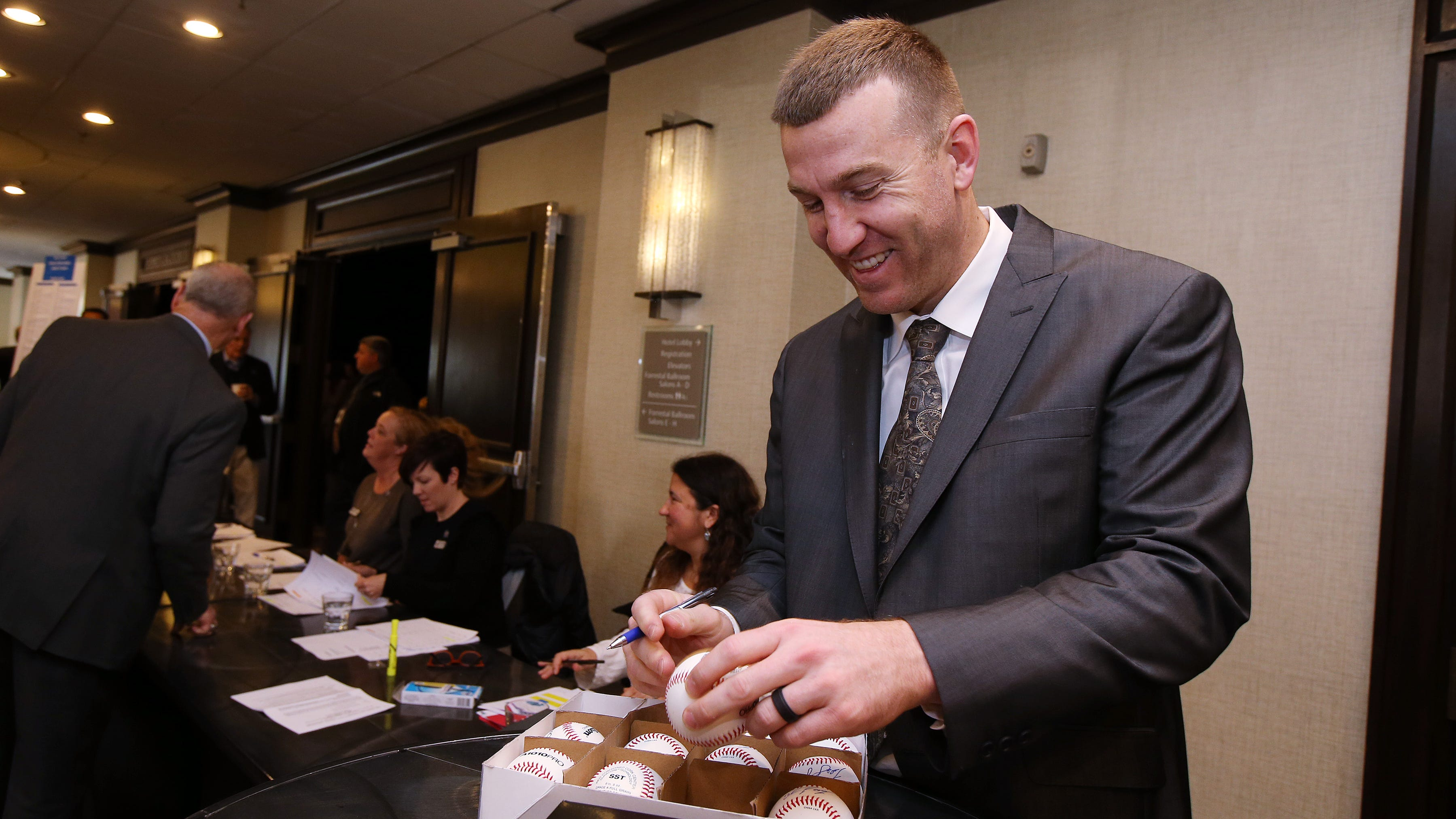 Todd Frazier of the New York Mets, and a Toms...