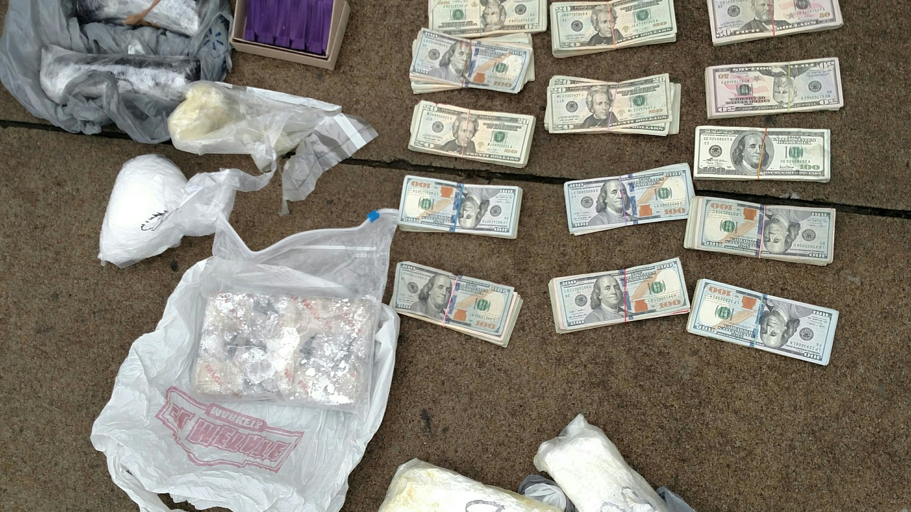Major drug raid in Deposit: Heroin, fentanyl, meth seized by