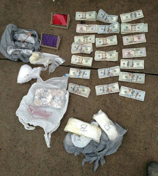 Deposit drug bust