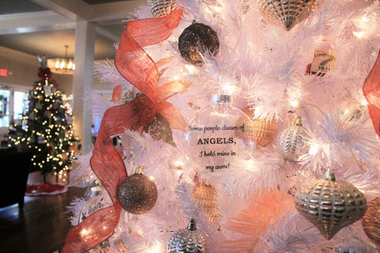 """The theme of this year's Deck the Trees at the Monte Vista Hotel, """"There Are Angels Among Us,"""" recognizes those in the community who help others."""