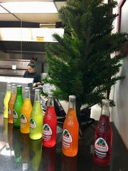 A variety of Jarritos Mexica sodas are available at Sergio's Tacos in Viera.