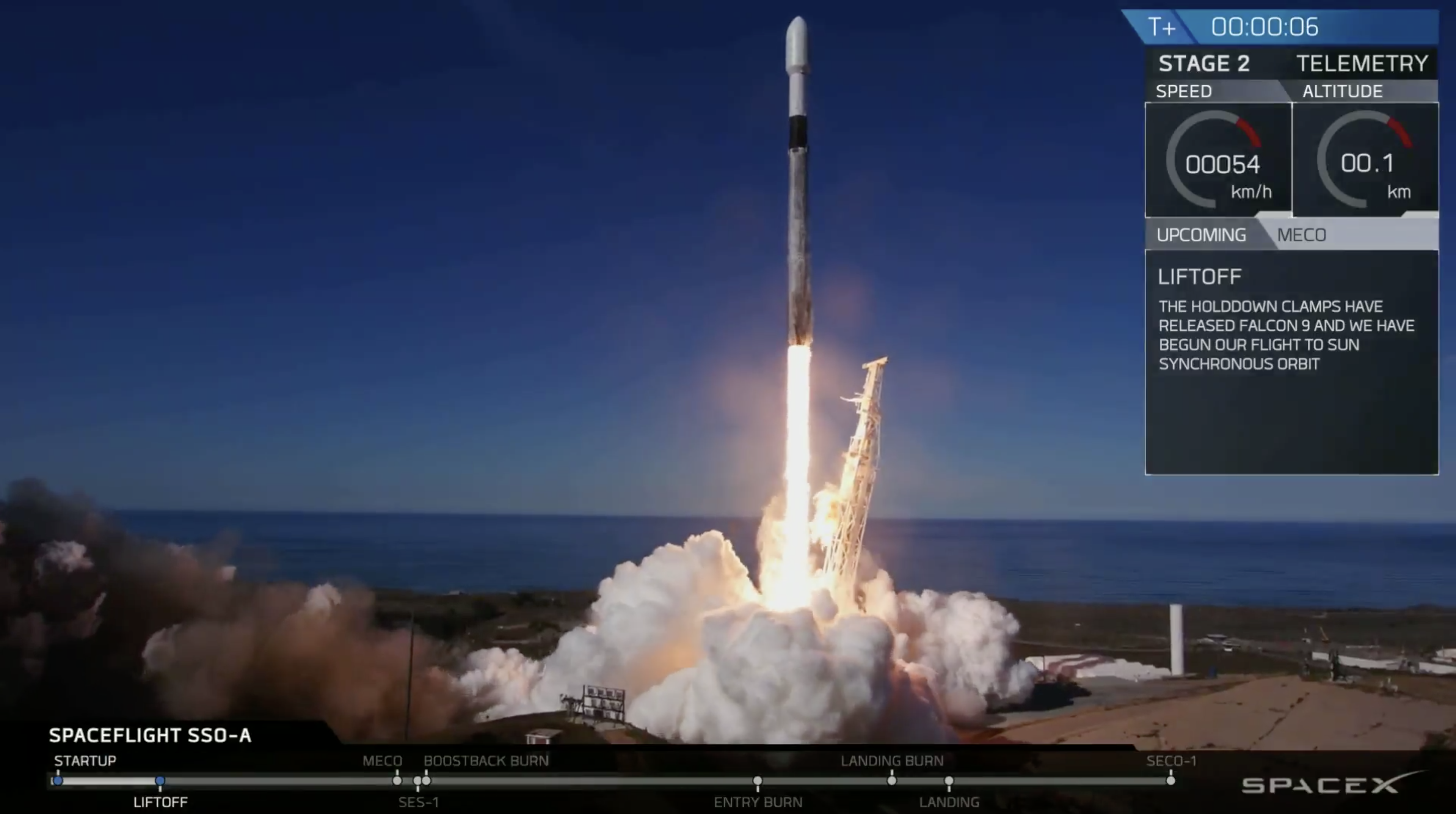 SpaceX Breaks Four Records With Historic Falcon 9 Launch From California