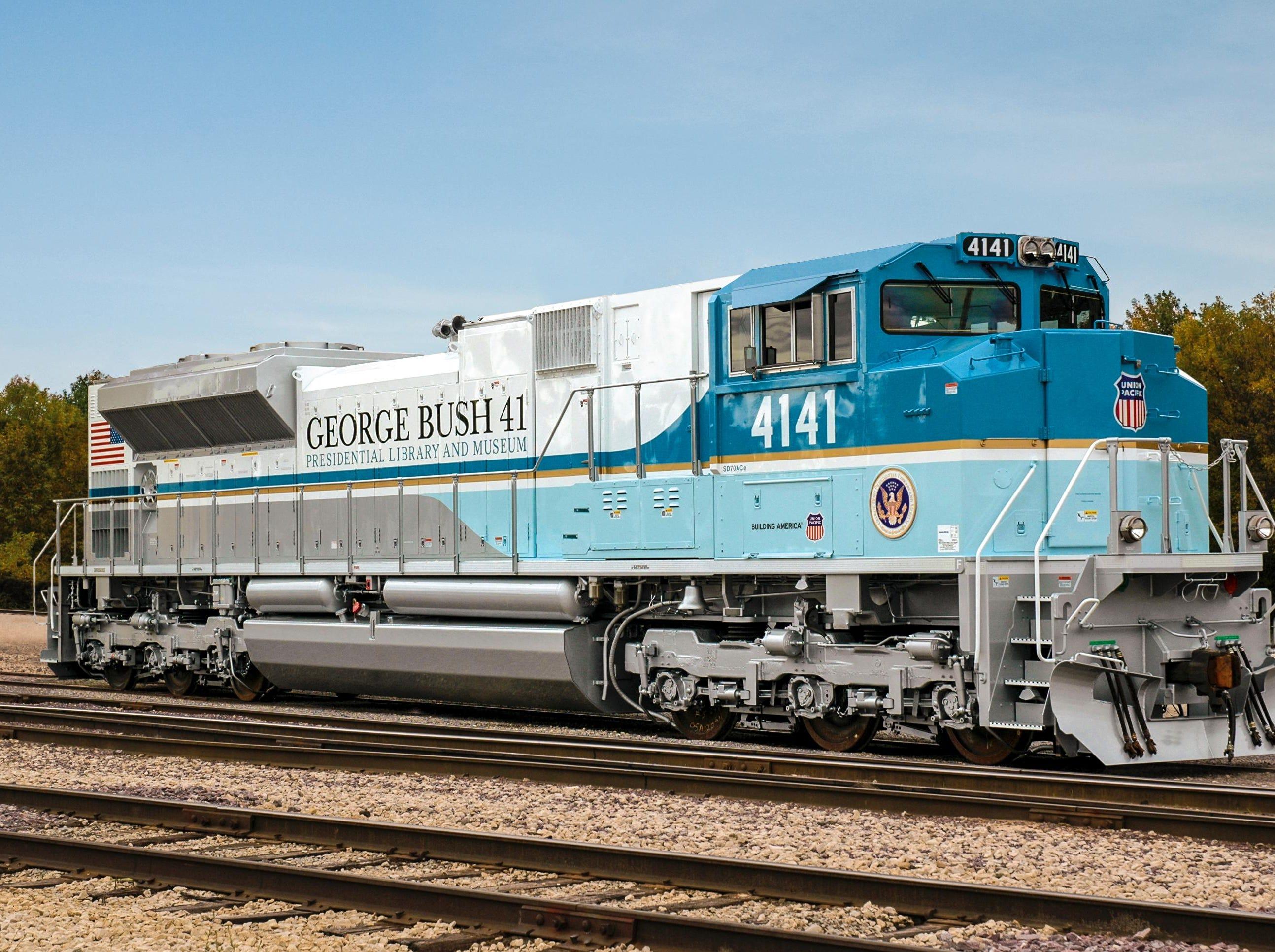 Union Pacific Locomotive No. 4141