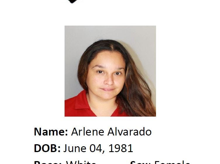 Arlene Alvarado is wanted for suspicion of Motion to revoke probation: aggravated assault. Anyone with information should call Crime Stoppers at 361-888-8477.