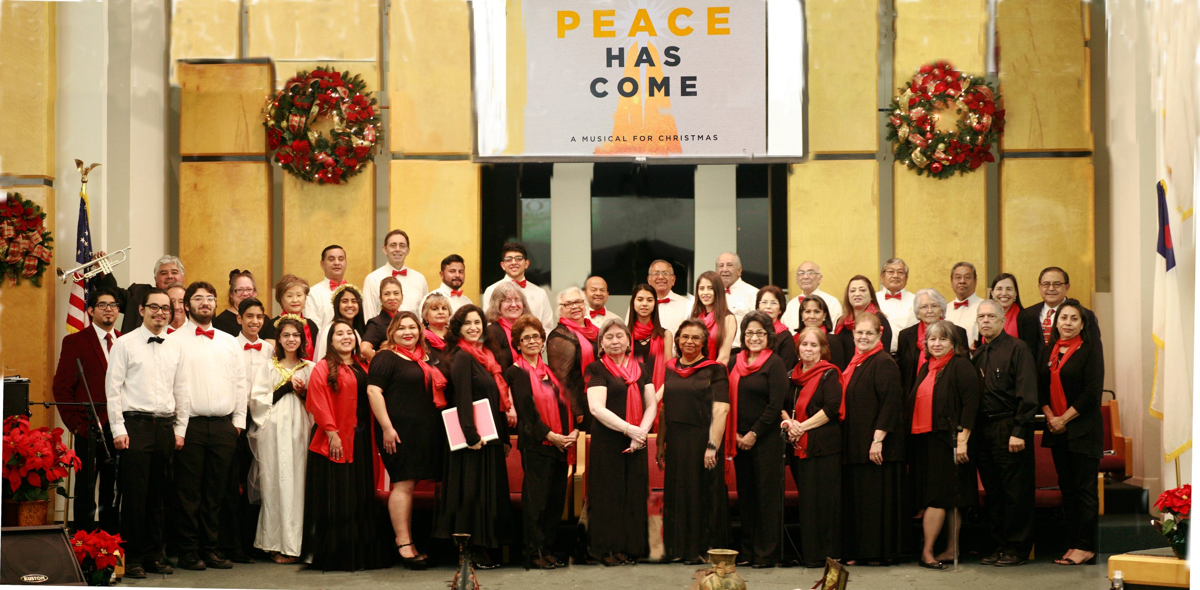 "Segunda Iglesia Bautista presents the bilingual cantata ""Peace Has Come"" at 7 p.m. Sunday, Dec. 16."