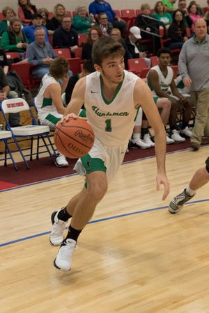 Huntington boys basketball's D.J. Kinzer earned this week's male athlete of the week after scoring 16 points in a 66-50 win over Southeastern on Friday.