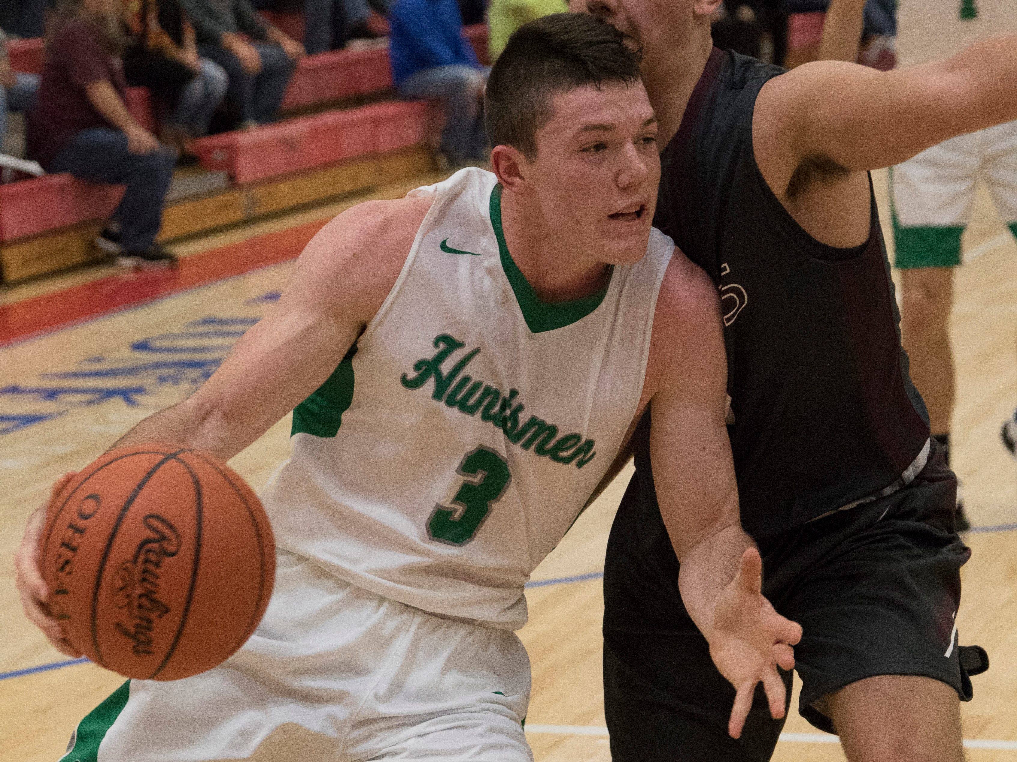 Vinton County defeated Huntington High School 58-35 during the Zane Trace Tip-Off Classic at Zane Trace High School on Saturday, December 1, 2018.