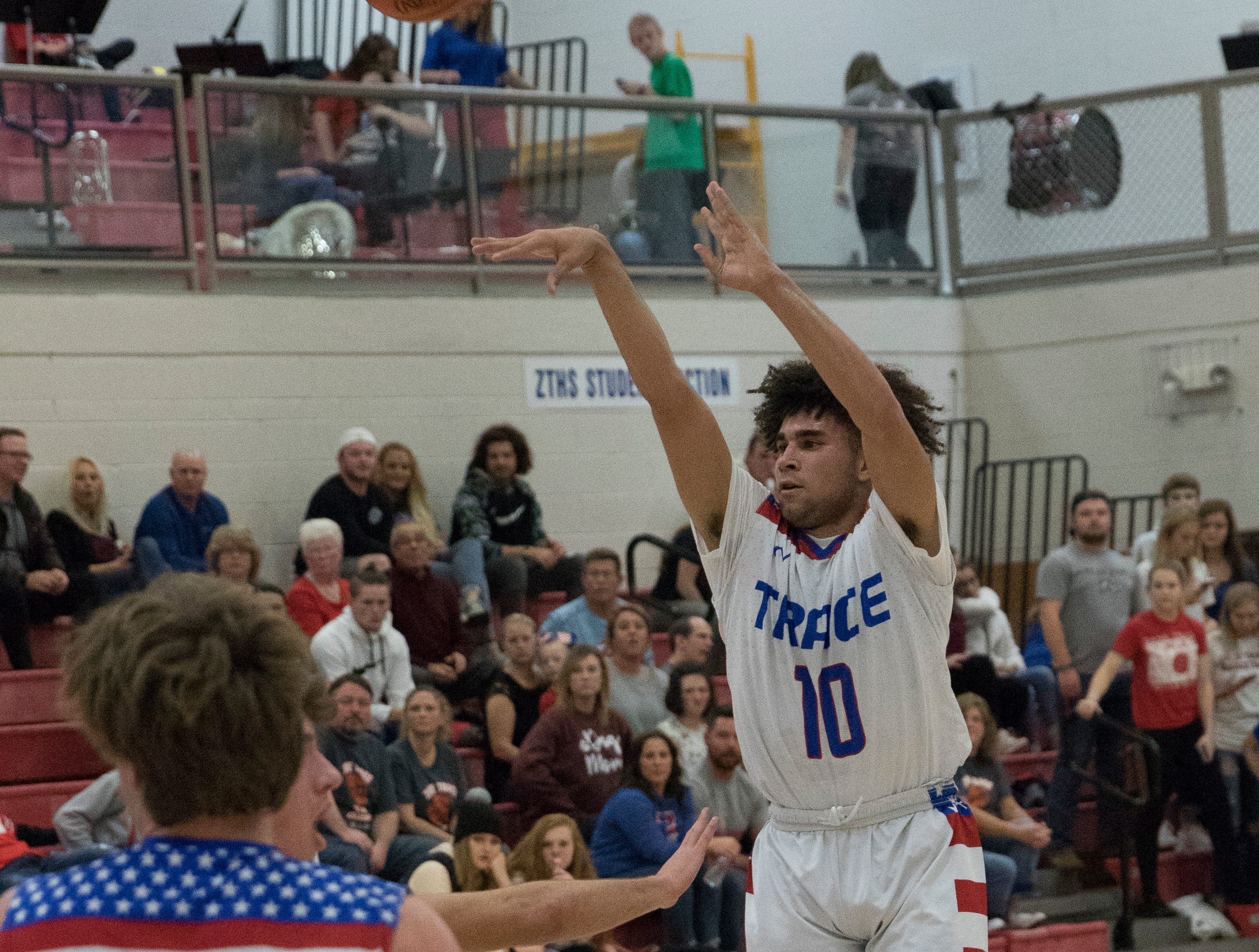 Hilliard Davidson defeated Zane Trace 74-45 during the Zane Trace Tip-Off Classic at Zane Trace High School on Saturday, December 1, 2018.