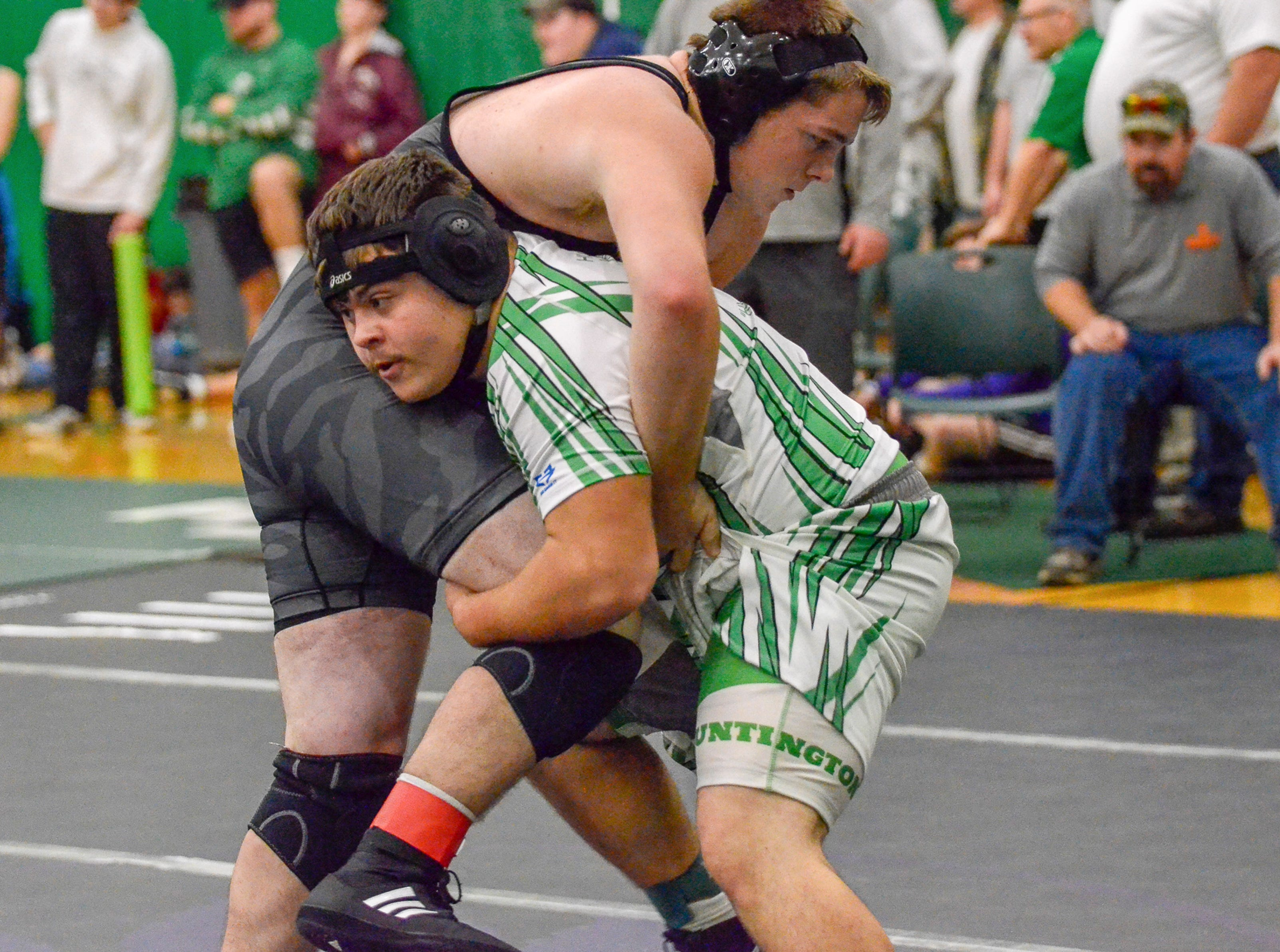 Huntington High school participated in the Fairland Invitational on Saturday, December 1, 2018, in Proctorville, Ohio. Huntington placed third overall at the tournament.